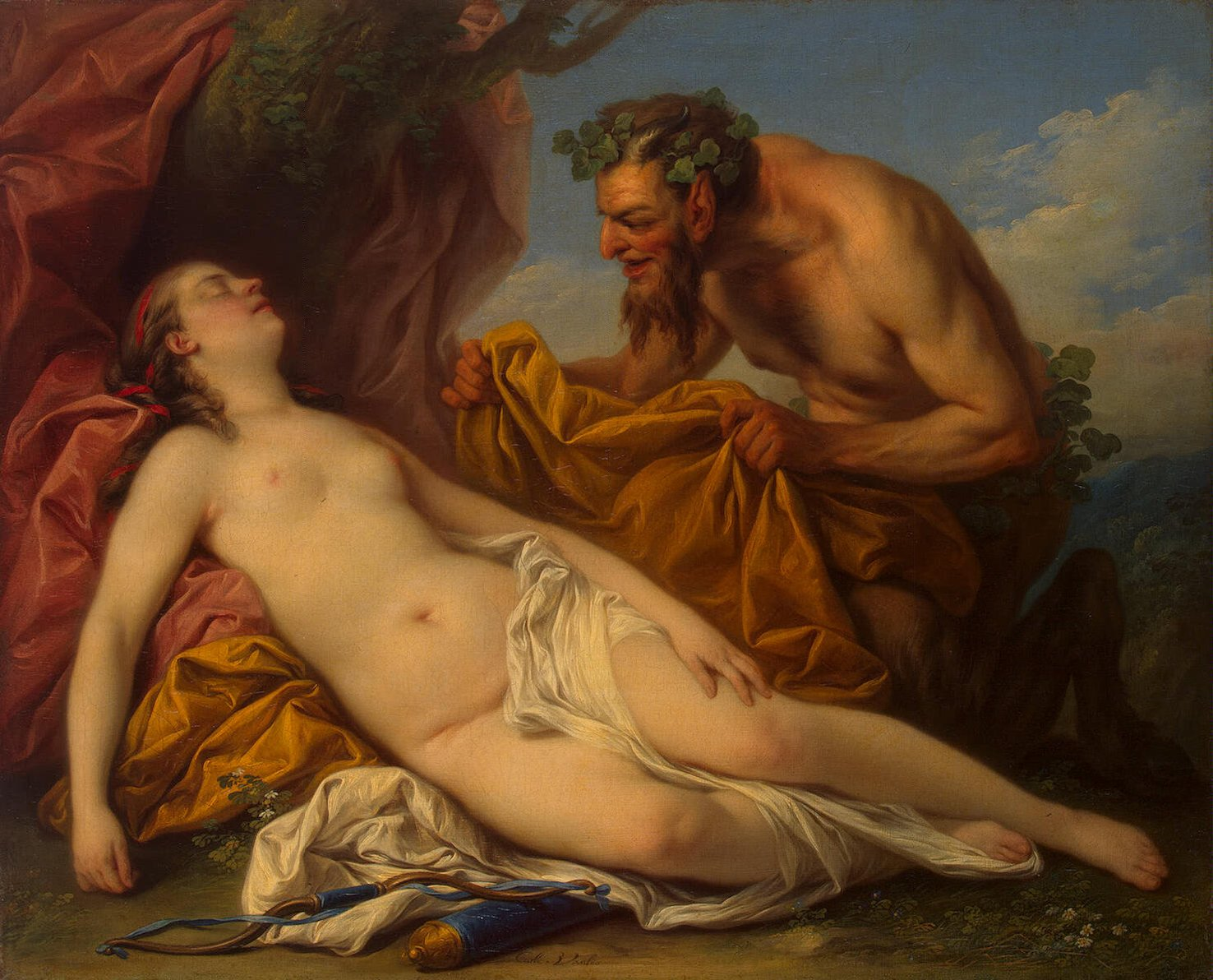 Jupiter and Antiope